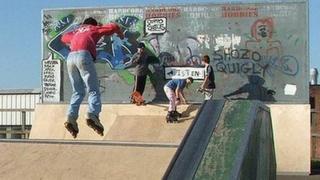 Bury St Edmunds skate park