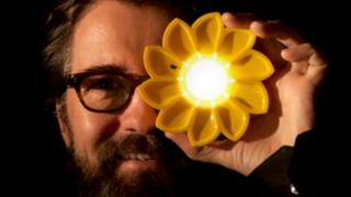 Olafur Eliasson and his Little Sun