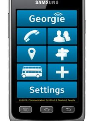 The Georgie smartphone