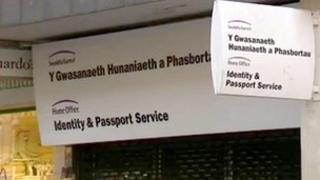 Swyddfa Pasport Casnewydd