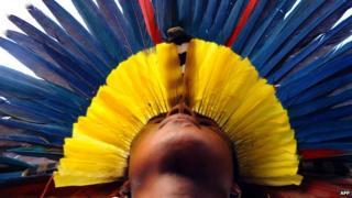 A Brazilian Pataxo indian