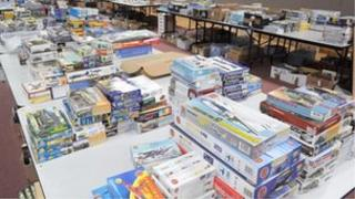 Boxes of models