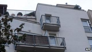 Apartment block in Budapest allegedly where Laszlo Csizsik-Csatary lives