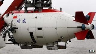Chinese Jiaolong submarine