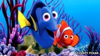 Production image from Finding Nemo