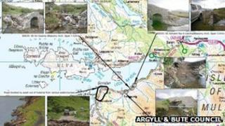 Map & dealbhan dhen B8035