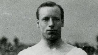 Eric Liddell won a gold medal at the 1924 Olympics in Paris