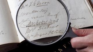 Dickens signature