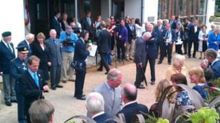 The Prince of Wales and Duchess of Cornwall visit Sark