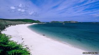 Pelistry Bay, St Mary's, Isles of Scilly