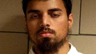 Rezwan Ferdaus shown in a photograph provided by the US Justice Department and date 28 October 2011