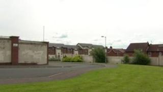 Ballymurphy area of west Belfast