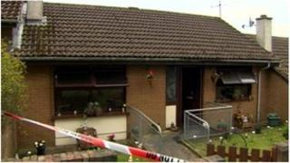 The family managed to get out of the house after a smoke alarm alerted them of the fire