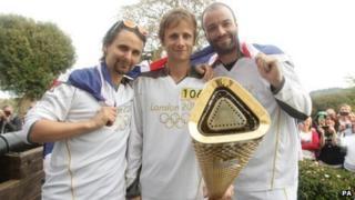 Muse: Matt Bellamy, Dominic Howard and Christopher Wolstenholme