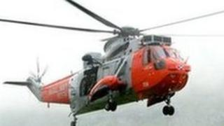 HMS Gannet helicopter