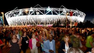 Olympic stadium London 2012