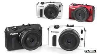 Canon EOS M cameras
