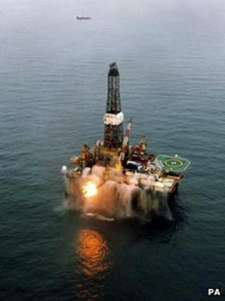 Irish oil rig, Barryroe