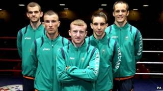 Ireland's men's boxing team have been getting fighting fit for the London games