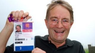 Alan Cooper, Olympic Marshal