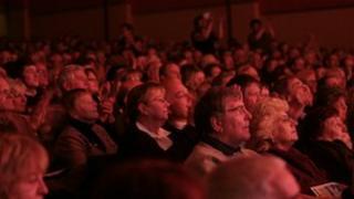 Felixstowe Spa Pavilion audience