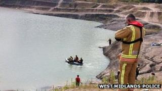 Search at quarry