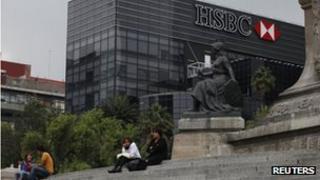 HSBC headquarters in Mexico City