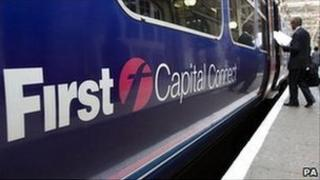 A First Capital Connect train