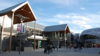 The Arc shopping centre, Bury St Edmunds