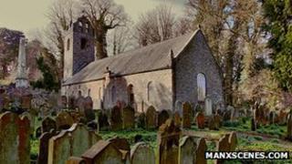 Kirk Braddan Church, Isle of Man