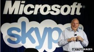 Steve Ballmer announces Skype takeover