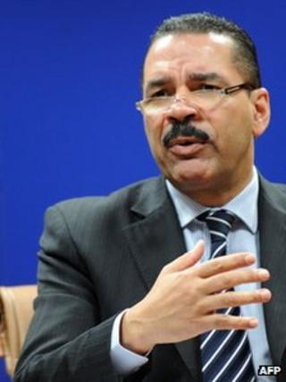 Secretary-General of Interpol Ronald K Noble