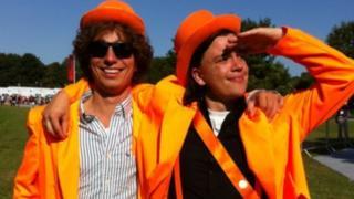 Pieter Deckers (left) and Jesse Saris
