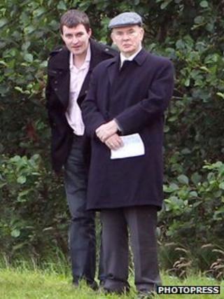 Peter Darragh Quinn and Peter Quinn Sr