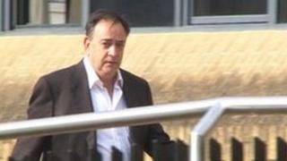 Frank Madden outside Southampton Crown Court