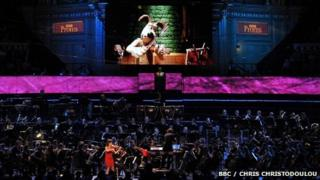 Wallace and Gromit at the proms