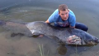 Angler James Jones, 31, of Southminster