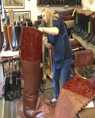 Lady Godiva boots