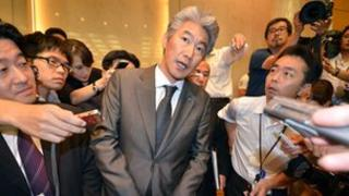 Newly appointed Chief Executive of Nomura, Koji Nagai