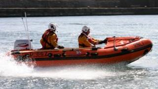 Anstruther inshore lifeboat