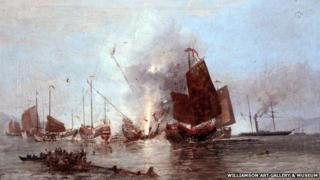 Armed steam ship 'Nemesis'