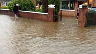 Killeaton estate flooding