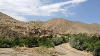 The valley in Afghanistan's Parwan province where Najiba was killed