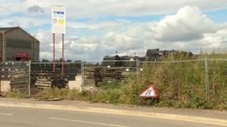 Disused land in Lincoln