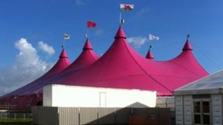 Pafiliwn yr Eisteddfod