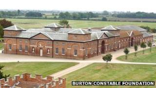 Stable block at Burton Constable