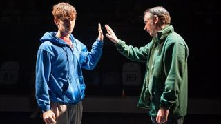 Luke Treadaway in The Curious Incident of the Dog in the Night-Time.
