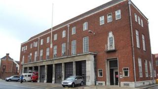 Bethel Street Fire Station in Norwich