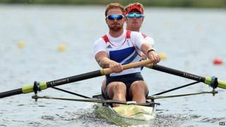 British rowing pair George Nash and Will Satch