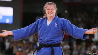 Karina Bryant at the London 2012 Olympics